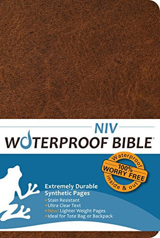 Waterproof Bible NIV(2011) Brown