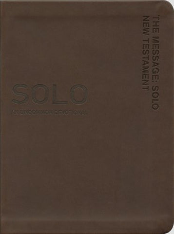 The The Message Solo New Testament and Journal: An Uncommon Devotional