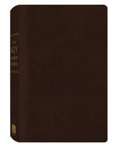 The KJV Study Bible (Bonded Leather) (King James Bible)