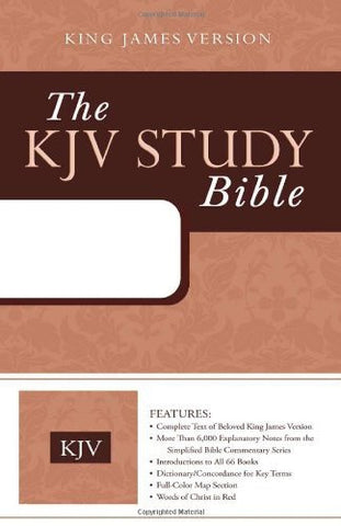 The KJV Study Bible (Two-Tone Brown) (King James Bible)