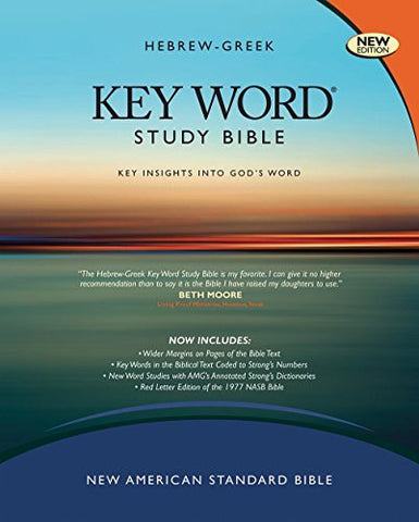 The Hebrew-Greek Key Word Study Bible: NASB-77 Edition, Burgundy Genuine Indexed (Key Word Study Bibles)