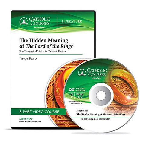 The Hidden Meaning of <i>The Lord of the Rings</i> - (Audio CD): The Theological Vision in Tolkien's Fiction