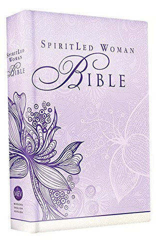 SpiritLed Woman Bible (Lavender): Modern English Version (MEV)