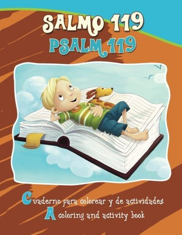 Salmo 119, Psalm 119 - Bilingual Coloring and Activity Book: Coloring and Activity Book in English and Spanish (Bible Chapters for Kids)