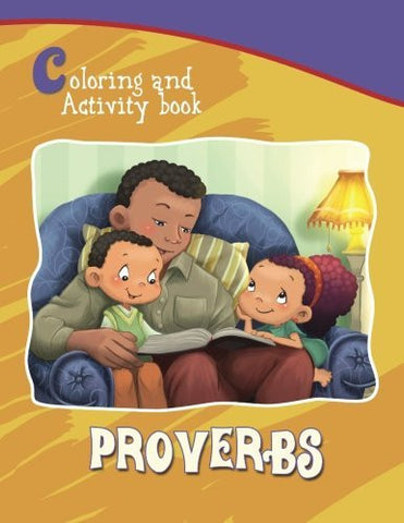 Proverbs Coloring and Activity Book: Coloring and Activity Book (Bible Chapters for Kids)