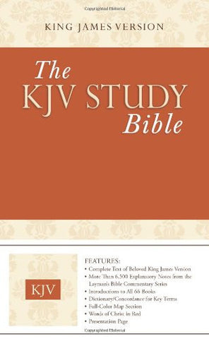 The KJV Study Bible (Heritage Two-Tone Brown) (King James Bible)