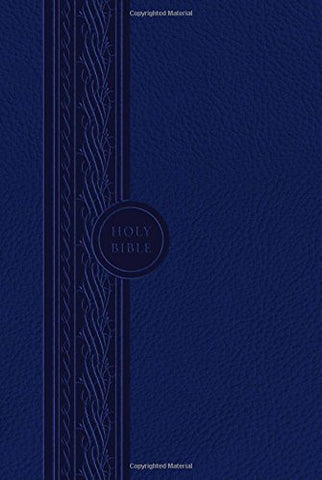 Thinline Reference Bible (Blue): Modern English Version (MEV)