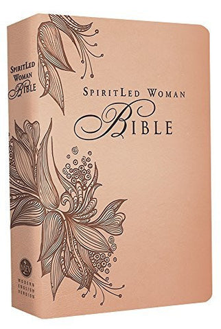 SpiritLed Woman Bible (Rose Tan): Modern English Version (MEV)