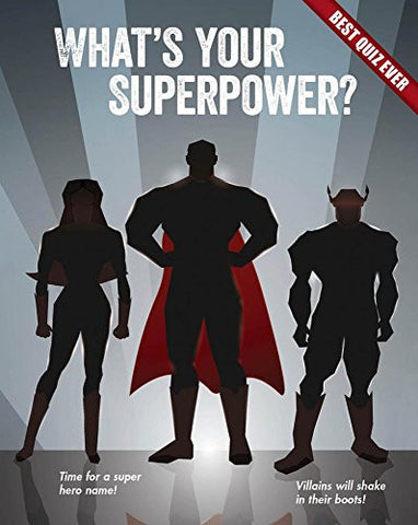 What's Your Superpower? (Best Quiz Ever)