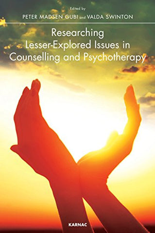 Research Lesser-Explored Issues in Counselling and Psychotherapy