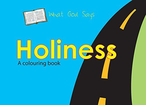 What God Says: Holiness (Bible Art)