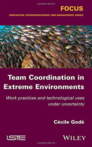 Team Coordination in Extreme Environments: Work Practices and Technological Uses under Uncertainty (Focus: Innovation, Entrepreneurship and Management Series)