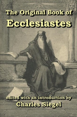 Original Book of Ecclesiastes