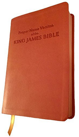 Proper Name Version of the King James Bible: With Cross-References and Concordance Index
