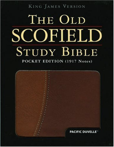 The Old Scofield?« Study Bible, KJV, Pocket Edition