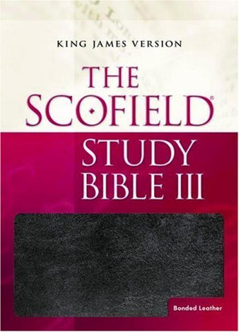The Scofield?« Study Bible III, KJV (Thumb-Indexed)