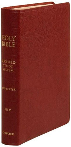 The Scofield Study Bible III: New International Version-Bonded Leather (burgundy)
