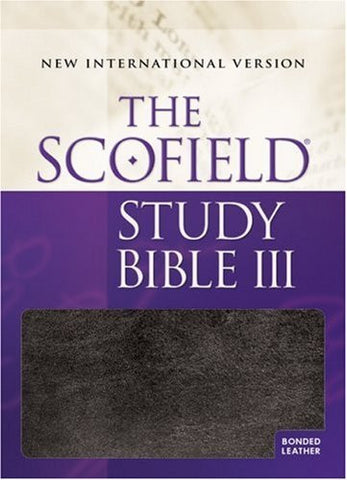 The Scofield?« Study Bible III, NIV