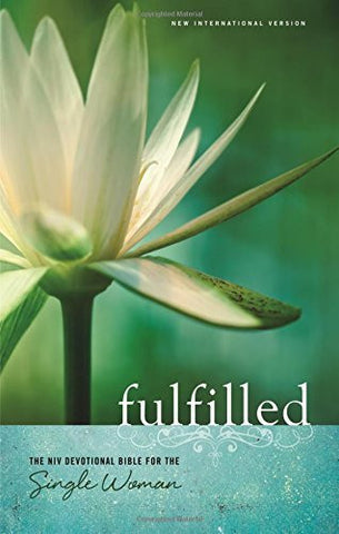 NIV, Fulfilled, Hardcover: The NIV Devotional Bible for the Single Woman