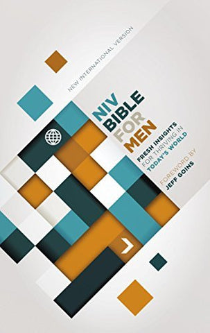 NIV, Bible for Men, Hardcover: Fresh Insights for Thriving in Today's World