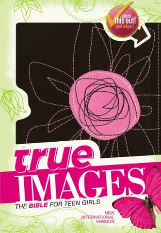 NIV, True Images: The Bible for Teen Girls, Imitation Leather,, Pink