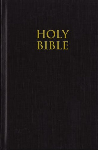 NIV, Pew Bible, Hardcover, Black