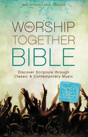 NIV, Worship Together Bible, Hardcover: Discover Scripture through Classic and Contemporary Music