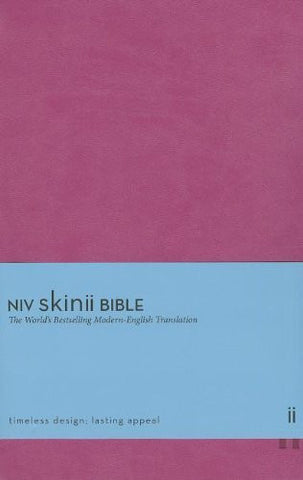 NIV, Skinii Bible, Imitation Leather, Pink