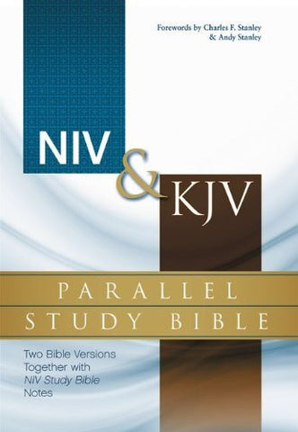 NIV, KJV, Parallel Study Bible, Hardcover: Two Bible Versions Together with NIV Study Bible Notes