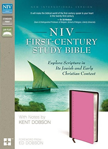 NIV, First-Century Study Bible, Hardcover: Explore Scripture in Its Jewish and Early Christian Context
