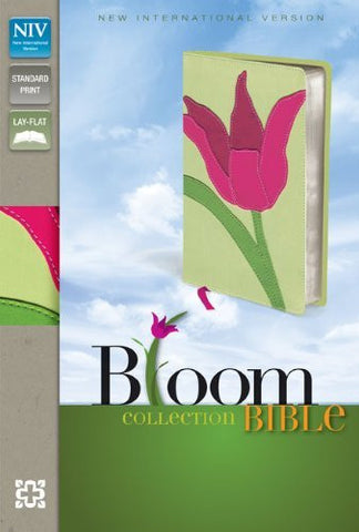 NIV, Bloom Collection Bible, Imitation Leather, Pink/Green, Red Letter Edition