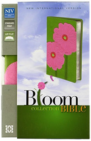 NIV, Bloom Collection Bible, Imitation Leather, Pink, Lay  Flat