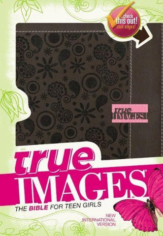 NIV, True Images: The Bible for Teen Girls, Imitation Leather, Brown