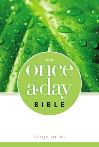NIV, Once-A-Day Bible, Large Print, Paperback