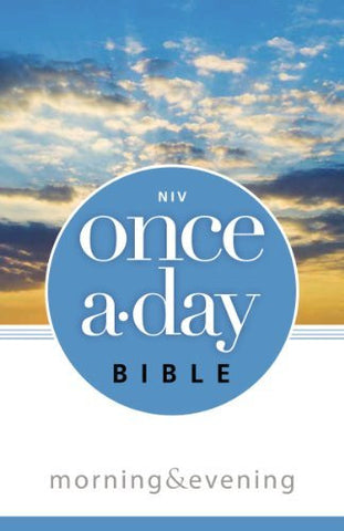 NIV, Once-A-Day Morning and Evening Bible, Paperback