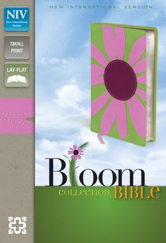 NIV, Bloom Collection Bible, Compact, Imitation Leather, Pink, Lay Flat