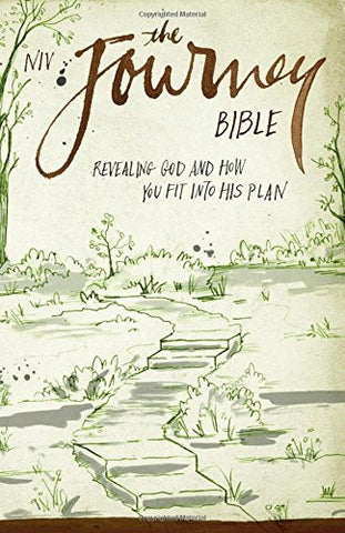 NIV, The Journey Bible, Paperback: Revealing God and How You Fit into His Plan