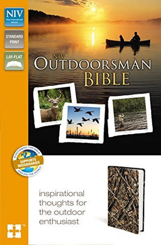 NIV, Outdoorsman Bible, Imitation Leather, Green