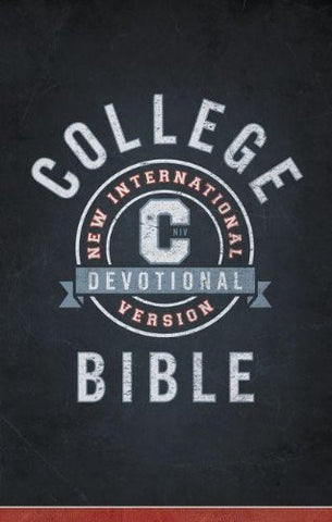 NIV, College Devotional Bible, Hardcover