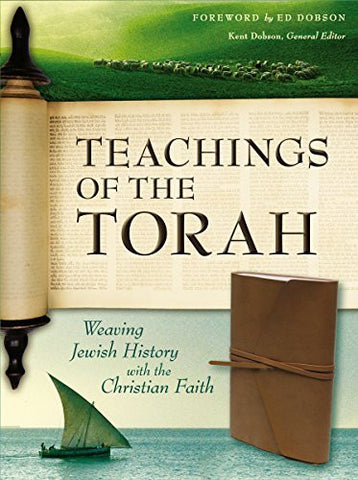 Teachings of the Torah, Imitation Leather, Brown: Weaving Jewish History with the Christian Faith