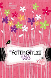 NIV, Faithgirlz! Bible: Revised Edition, Imitation Leather, Pink/Black