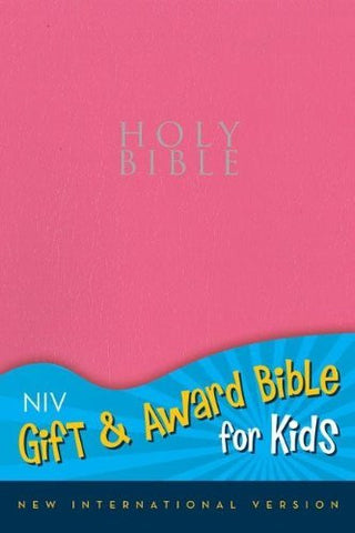 NIV, Gift and Award Bible for Kids, Imitation Leather, Pink, Red Letter