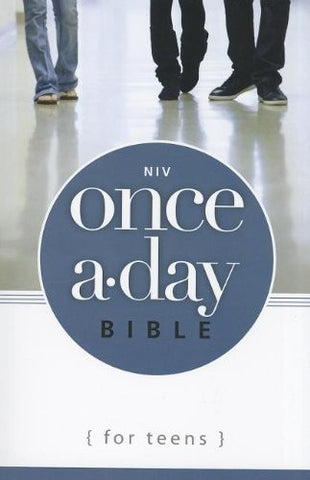 NIV, Once-A-Day Bible for Teens, Paperback