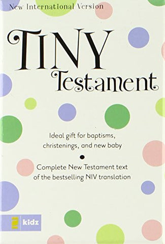 NIV, Tiny Testament Bible: New Testament, Imitation Leather, Pink