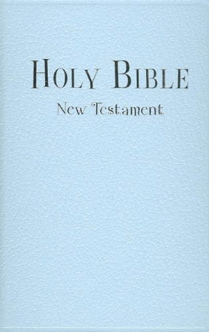 NIV, Tiny Testament Bible: New Testament, Imitation Leather, Blue