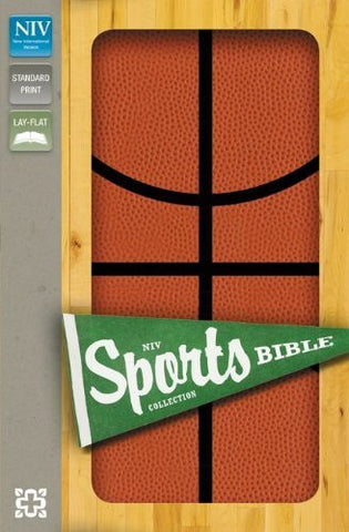 NIV, Sports Collection Bible: Basketball, Imitation Leather, Orange/Black