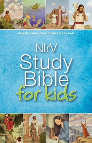 NIrV, Study Bible for Kids, Imitation Leather, Pink