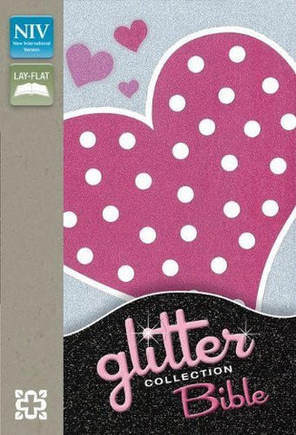 NIV, Glitter Bible Collection, Imitation Leather, Pink