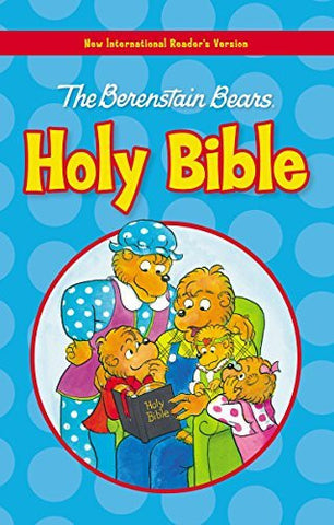 NIrV, The Berenstain Bears Holy Bible, Large Print, Hardcover (Berenstain Bears/Living Lights)