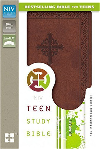 NIV, Teen Study Bible, Compact, Imitation Leather, Brown